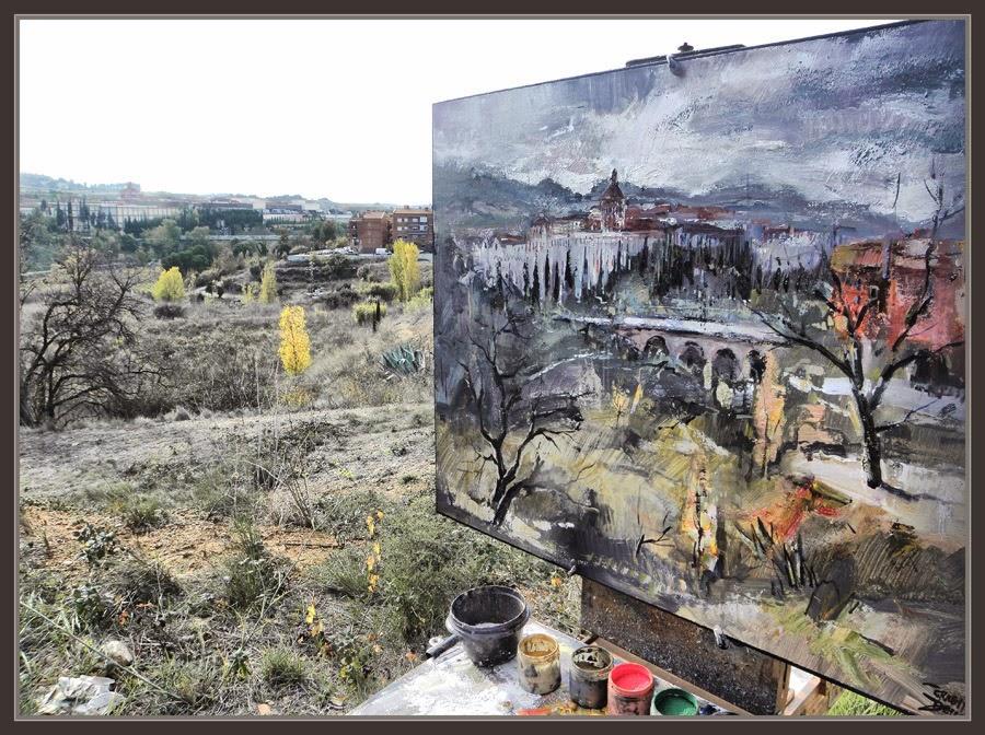 Ernest descals artista pintor sant sadurn d anoia pintura caves freixenet panoramica fotos - Muebles sant sadurni d anoia ...