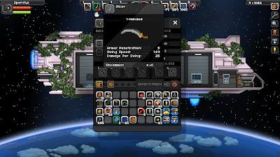 Одноручный железный меч Starbound