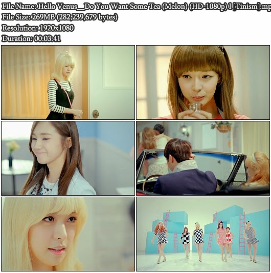 Download MV Hello Venus - Do You Want Some Tea ? (차 마실래?) (Melon Full HD 1080p)