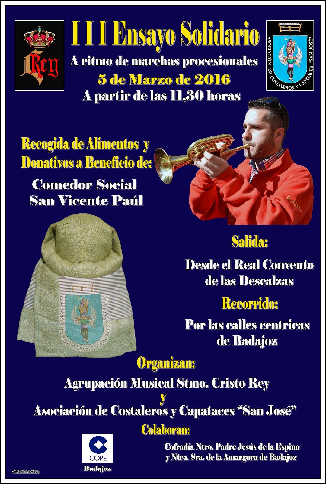 Cartel III Ensayo Solidario