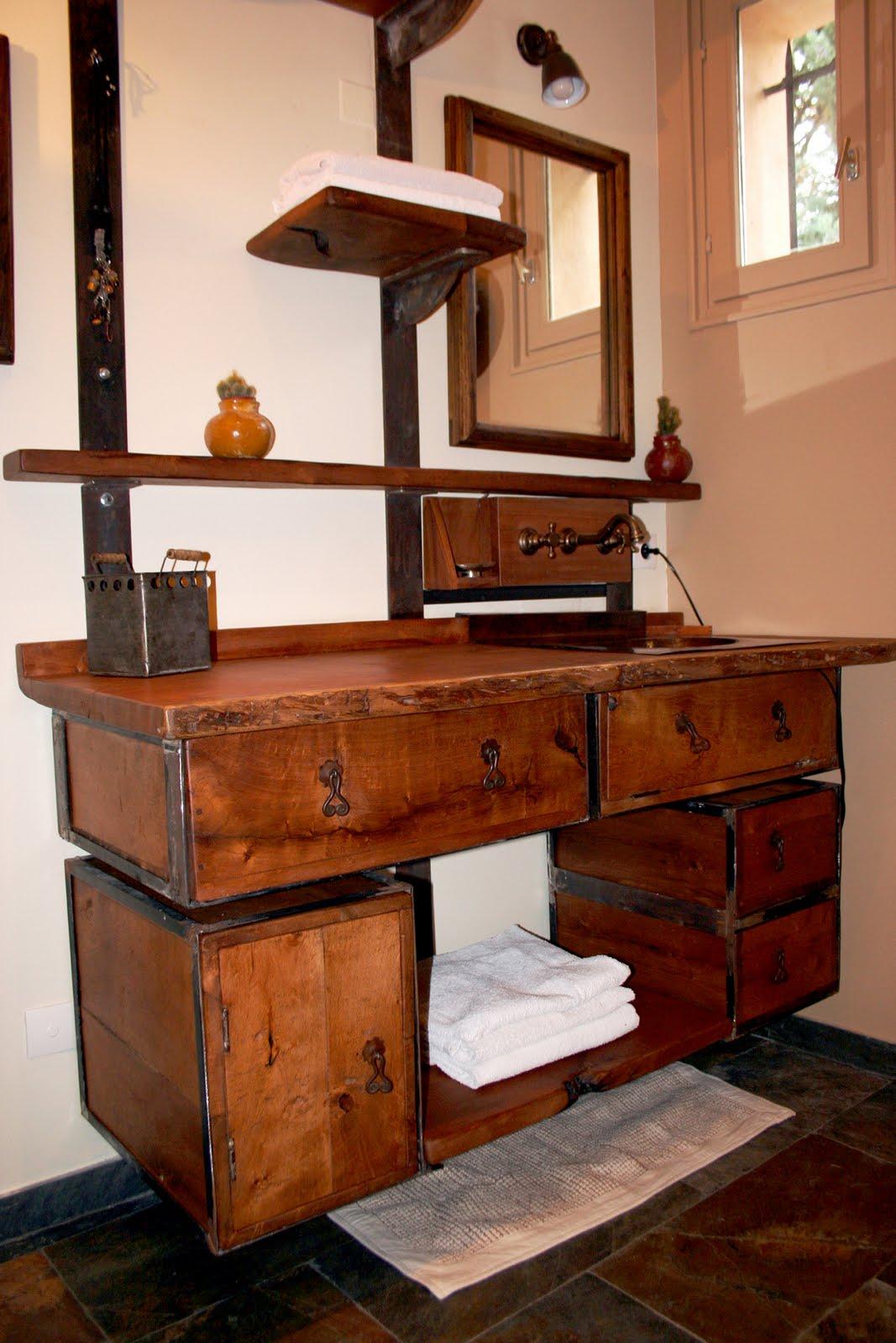 ... : Le mobilier mexicain sur mesure...Un meuble de salle de bain