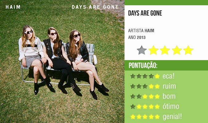 Resenha: Days Are Gone - Haim