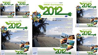El INEM Cartagena Co., celebra con fervor el Día Mundial del Turismo.