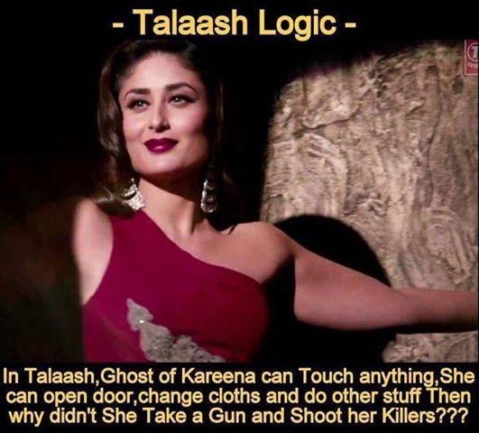 Talaash Logic