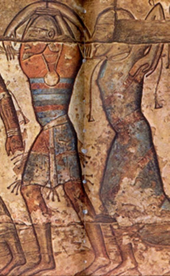الأقواس التسعة فى الحضارة المصرية القديمة