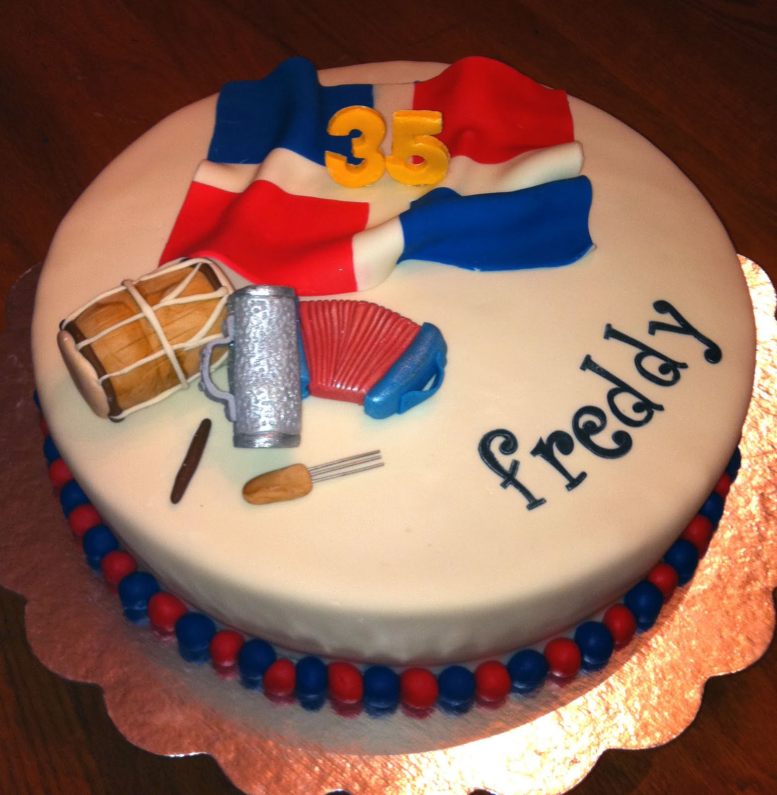 Dominican Republic Birthday Cake Bakery