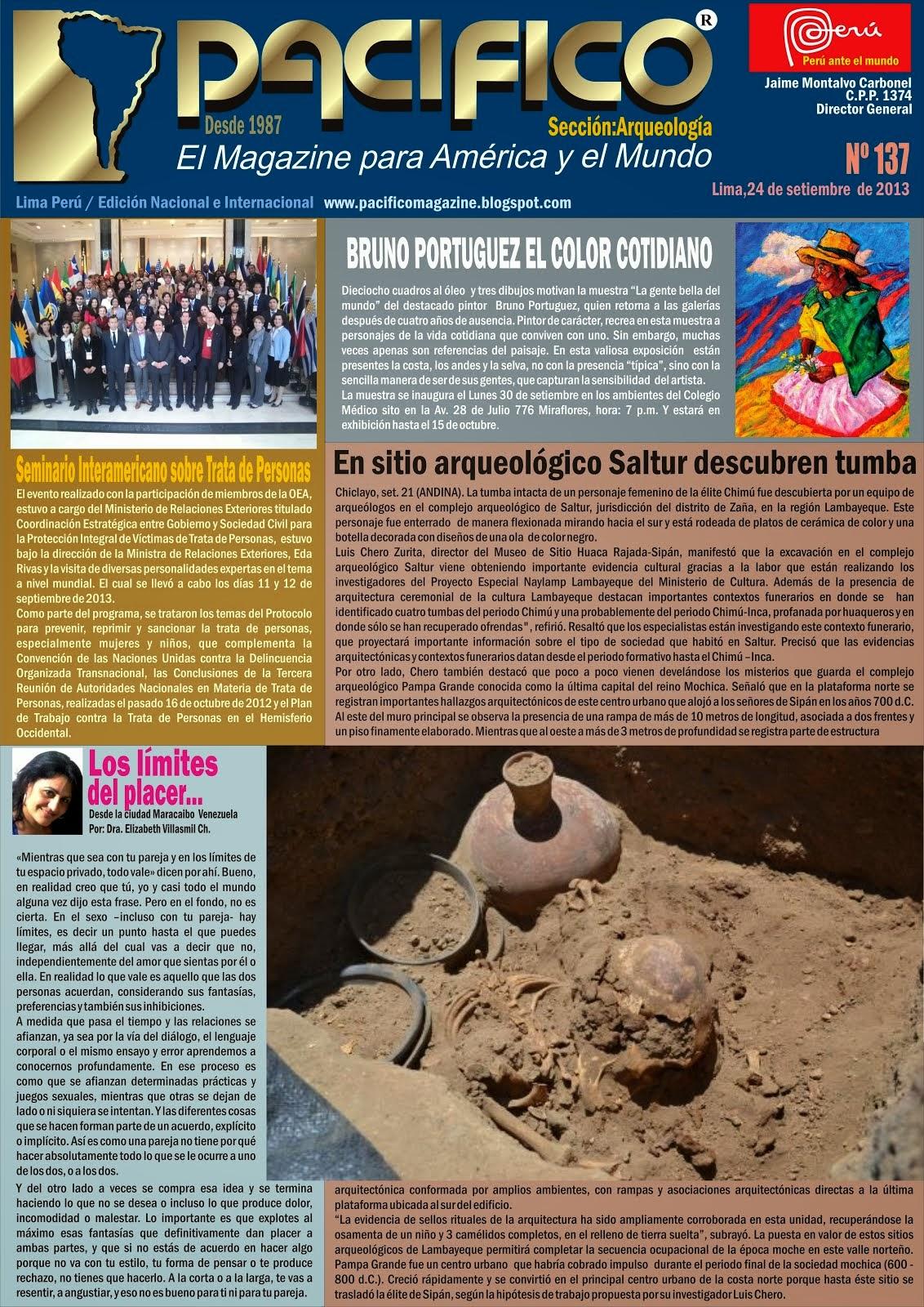 Revista Pacífico Nº 137 Arqueología