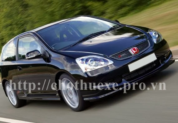 Cho thuê xe 4 chỗ Honda Civic tại Đức Vinh