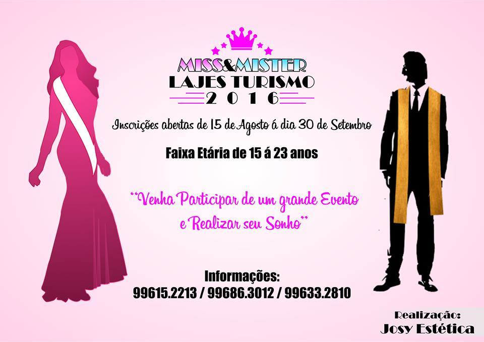 MISS/MISTER LAJES TURISMO