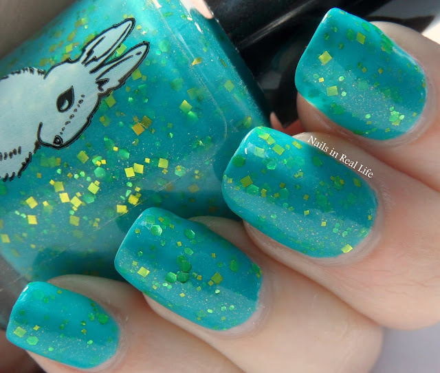 Real Life Emerald: Nails In Real Life: HARE Polish Bisbee 2.0 And A Shout Out