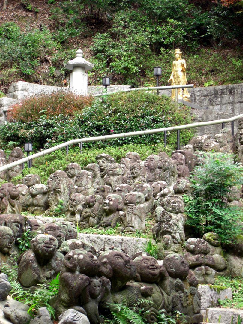 Otagi-Nenbutsu-Ji, The Temple of 1,200 Statues in Kyoto, Japan