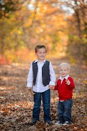 Seth (5) and Noah (2)