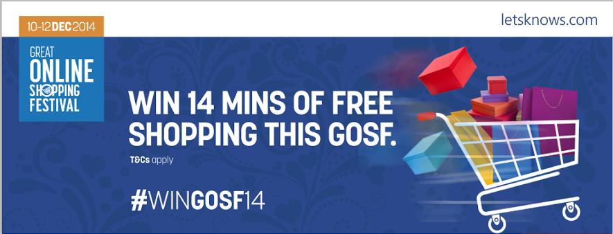 14 Min Free Shopping