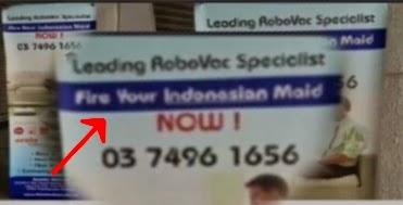 Iklan Produk Malaysia, Jelas Singgung TKI Indonesia