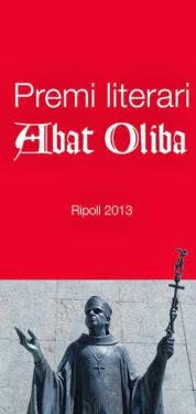 Premi Literari Abat Oliba 2013