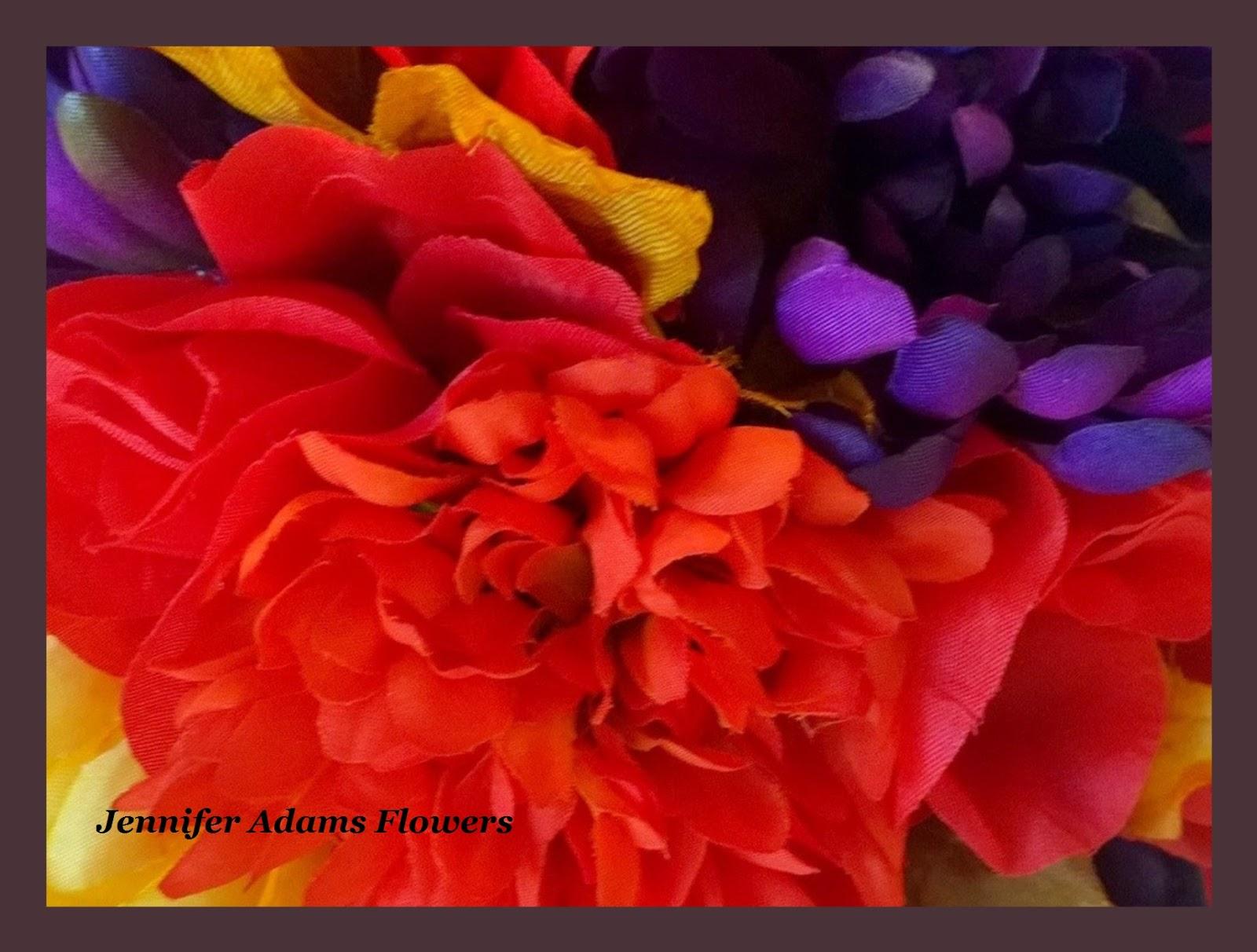 Jennifer Adams Flowers Autumn Mix 17 Pc Package 2015