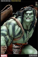 Caiera Character Review - Skaar Statue