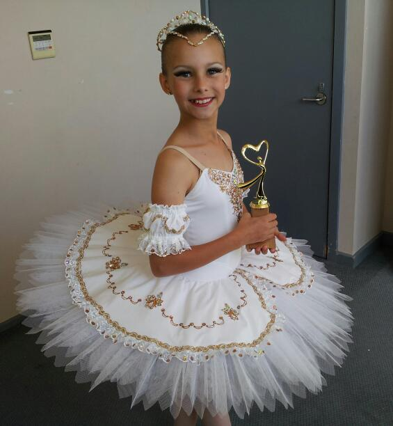 Victoria winner under 12 Novice classical solo, MBMDF 2012