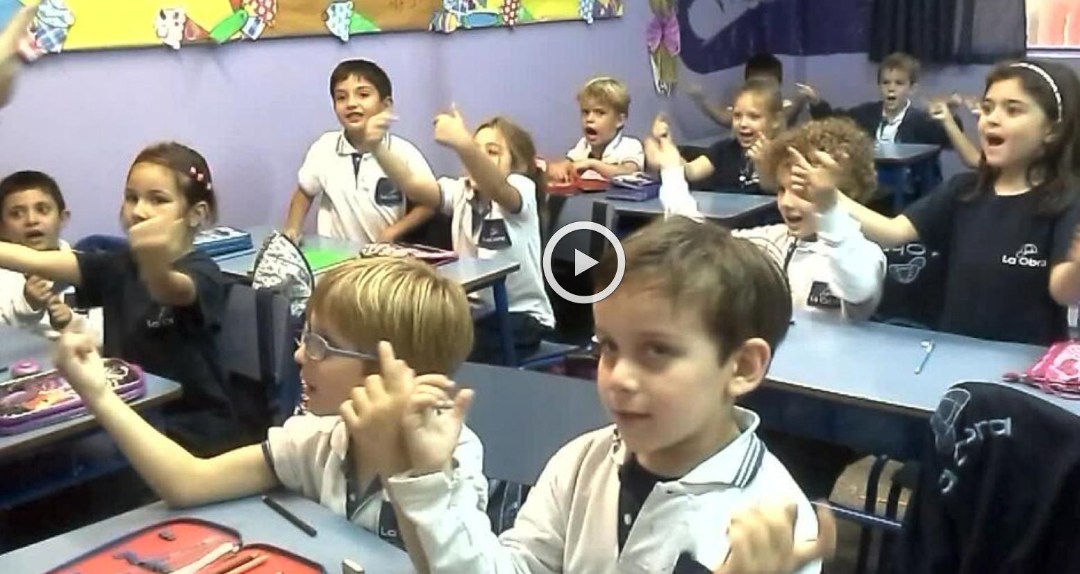 1º B - VIDEO CLASE DE INGLÉS - 2015