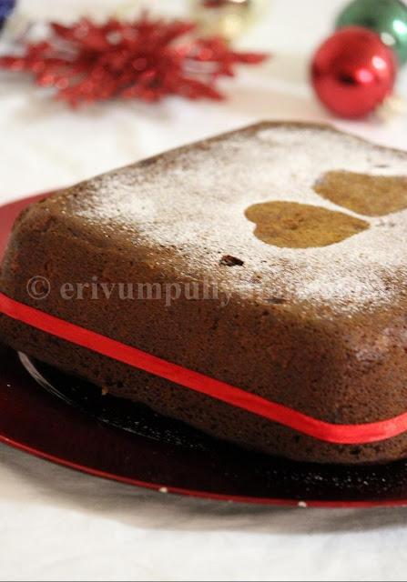 Kerala Plum Cake | Christmas Fruit Cake (Step by Step Pics)