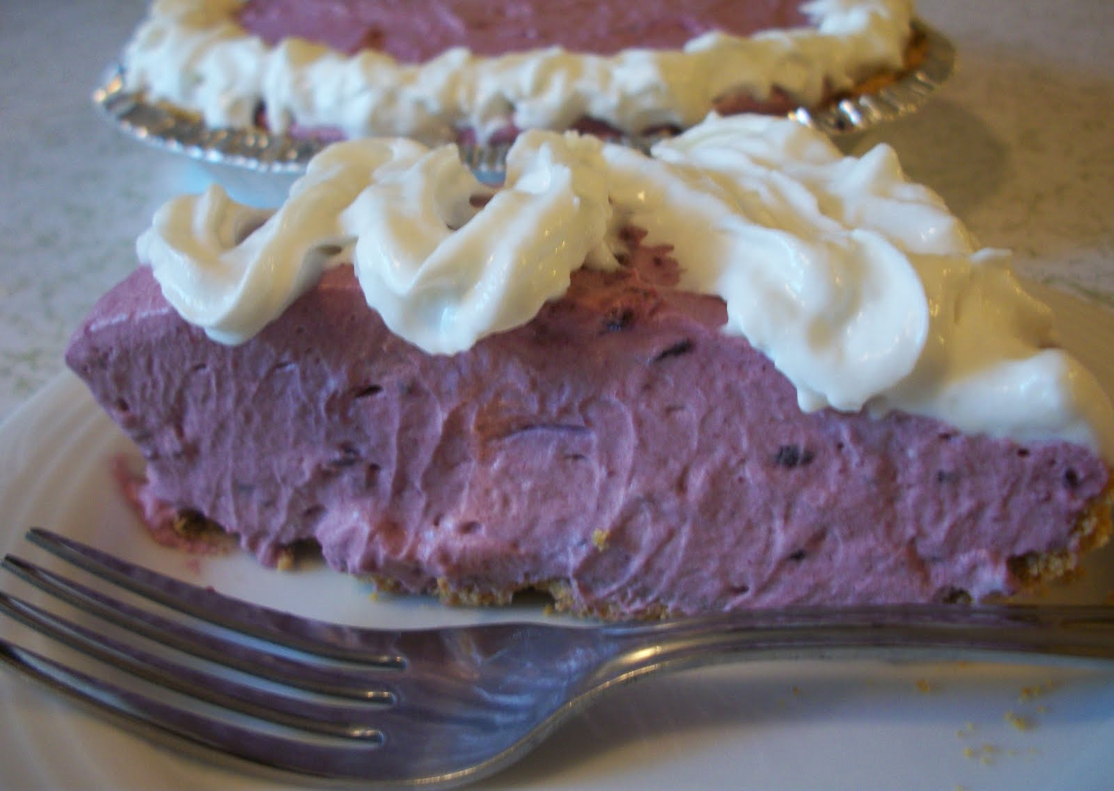 The Big Green Bowl: Black Raspberry Cream Pie