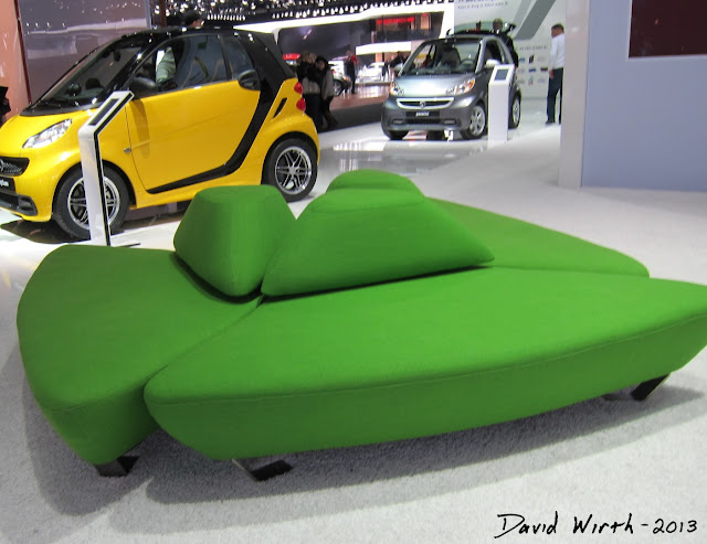 art deco couch, green couch, auto show, cars, rounded, 3 piece