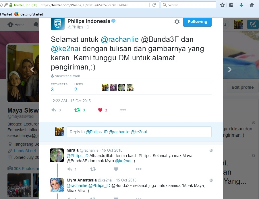 Juara Lomba Blog Philips Rice Cooker