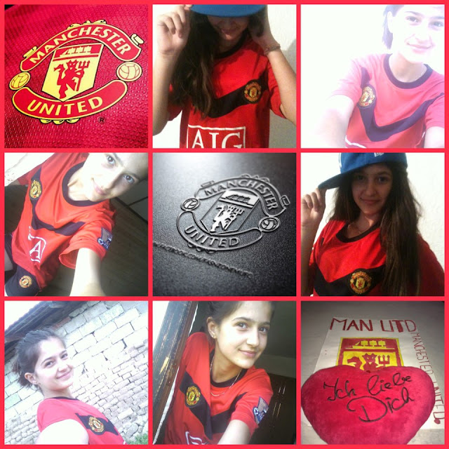 Edona Ajvazi - A Manchester United girl from Albania