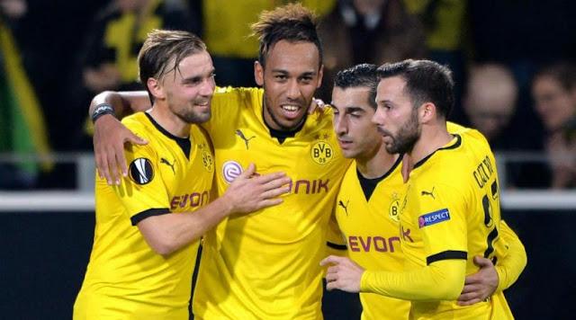 Hasil laga Borussia Dortmund 4-0 Qabala