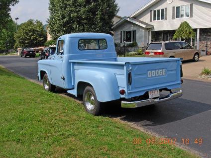 Development Of Automotive Old Dodge Pickup Trucks 1960 Dodge D
