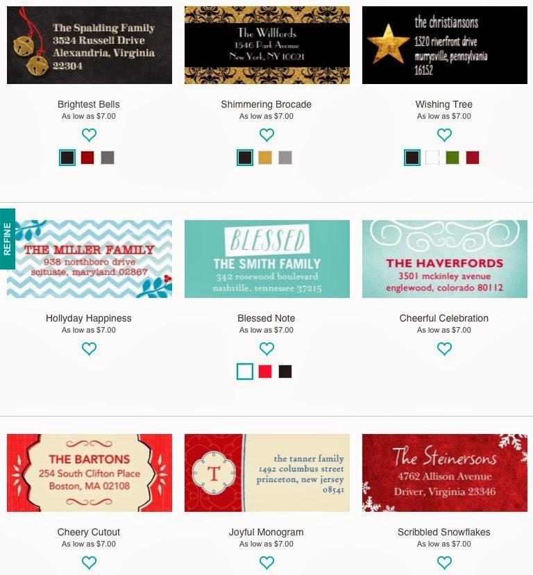 tiny prints discount code  50  off address labels  u0026 gift tags