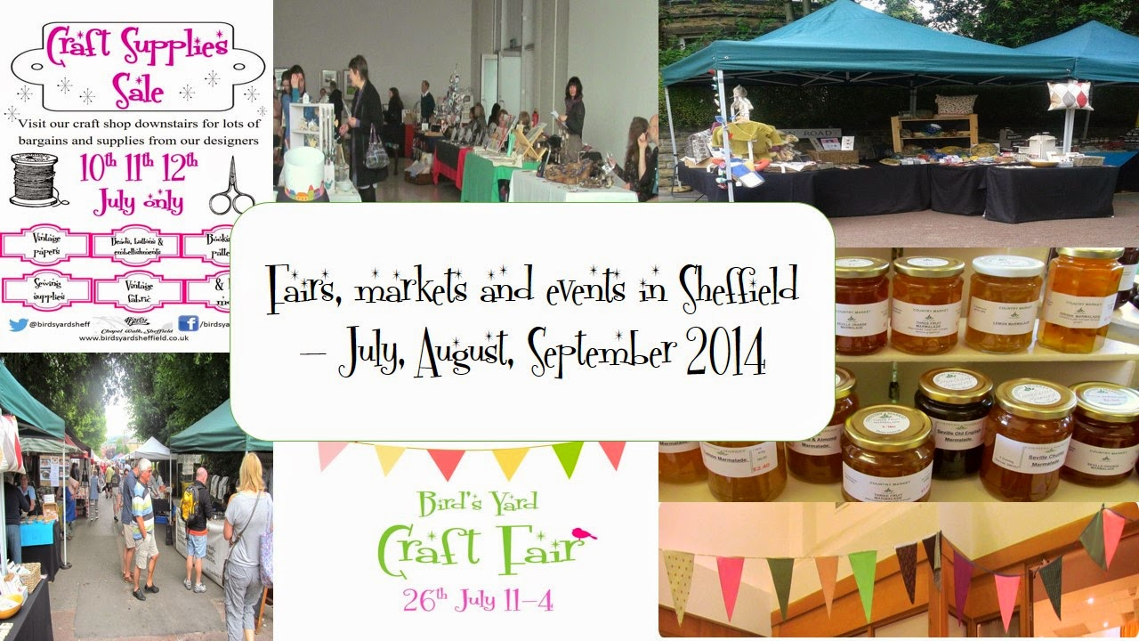 markets and fairs sheffield 2014