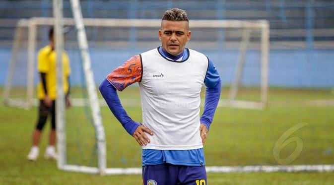 Alasan Cristian Gonzales Tolak Jadi Kapten Arema