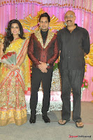 Celebraties at Actor Bharat n Jessy Wedding Reception Photos+%252817%2529 Actor Bharath n Jessy Wedding Photos