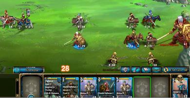 Rise of Mythos Card system