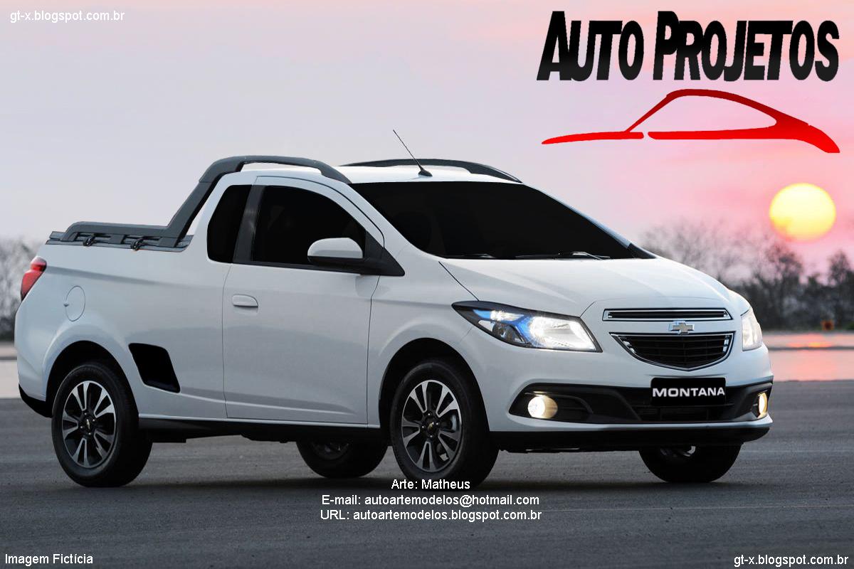 Chevrolet Montana 2013 II - Onix Picape