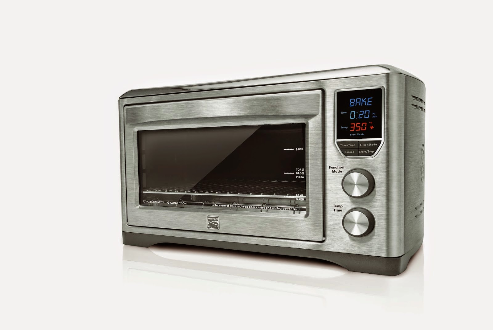 Kenmore Elite Countertop Convection Oven : Kenmore Elite Digital Countertop Convection Oven
