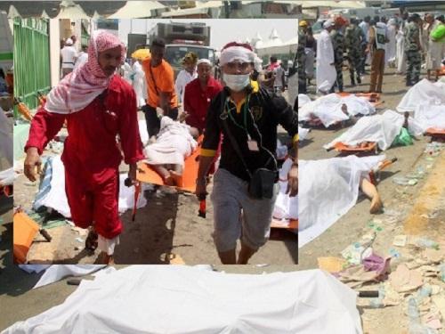 hajj stampede in Mina saud arabia 2015