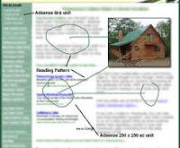 Cara terbaik untuk menggabungkan iklan-iklan yang dapat terlihat seperti bagian content alaminya pada menu-menu navigasi situs anda