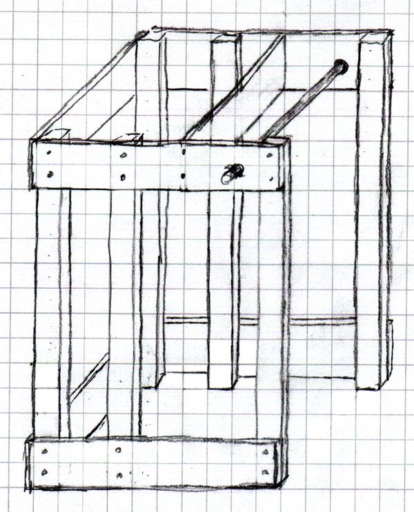 Wooden power rack plans homemade wooden power rack power for Power rack design plans