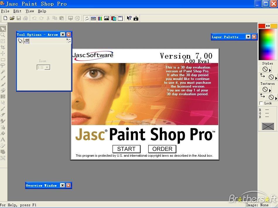 Jasc paint shop pro 6 animation shop