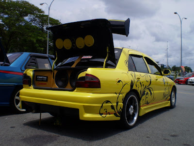 Wira Autoshow car