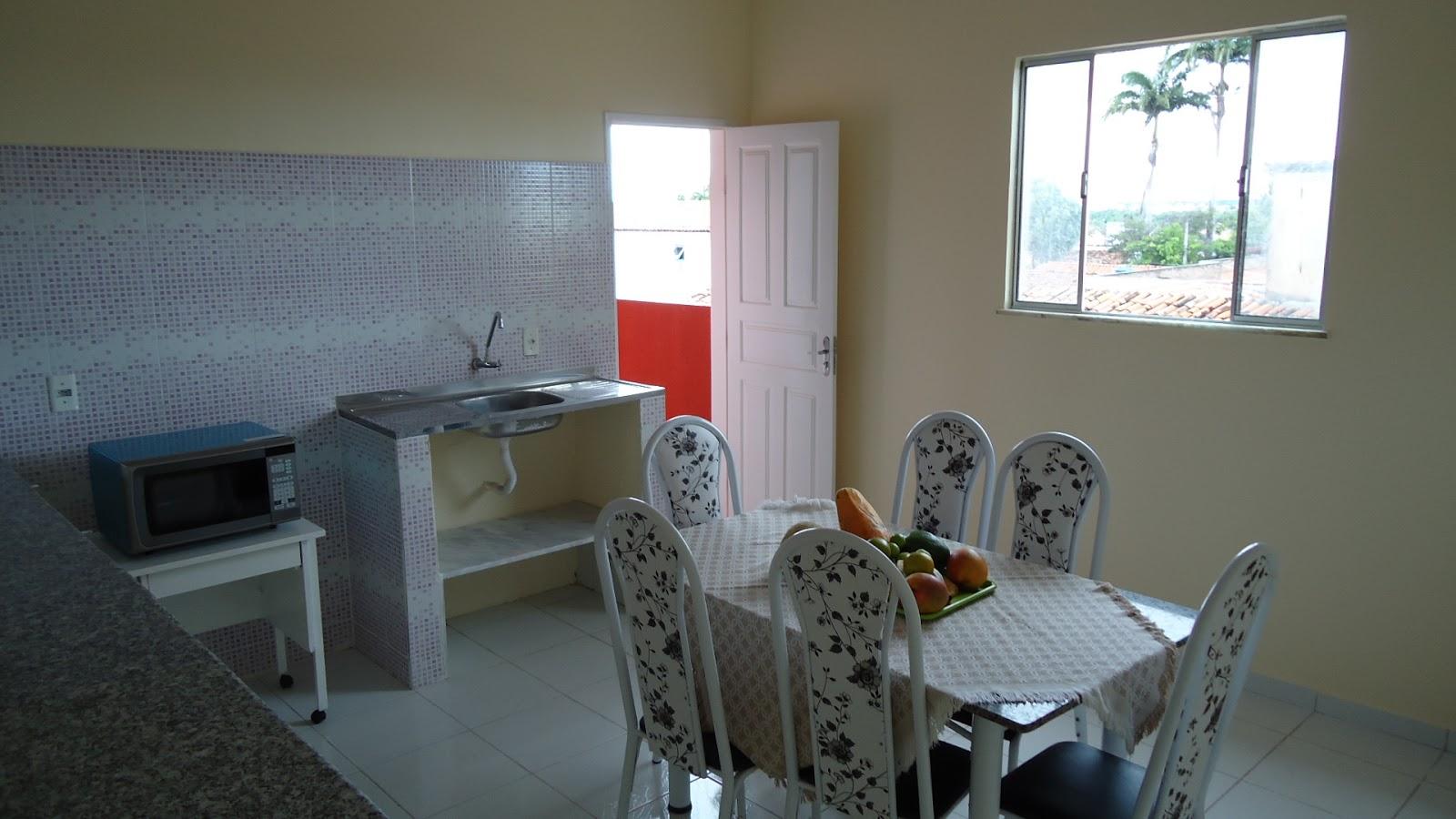 Foto da cozinha do pensionato (Fortaleza-CE)
