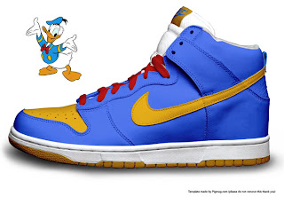 Daffy Duck Nike Shoes