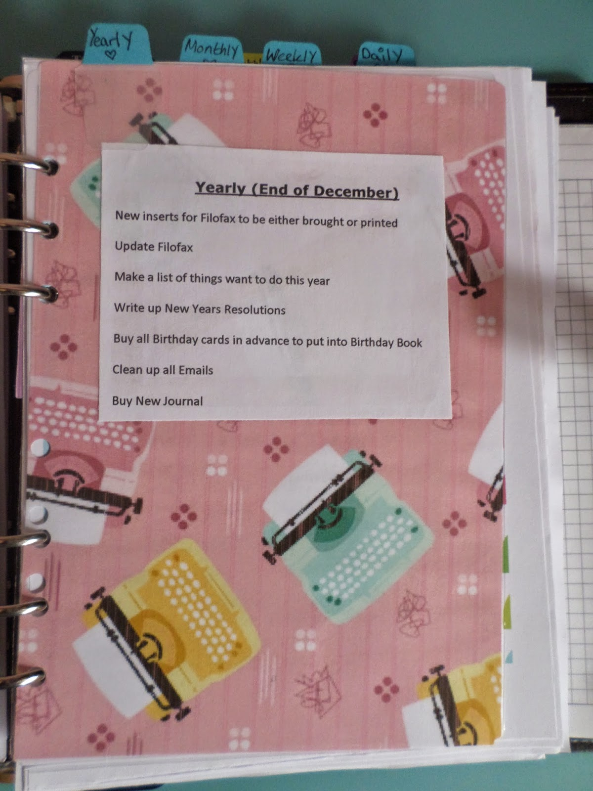 Organise your Life & Mind How I organise my Filofax