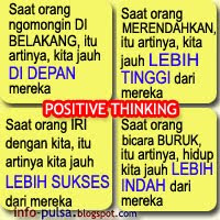 PP / DP BBM : Positive Thinking
