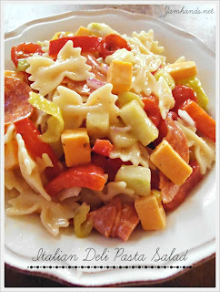 Italian Deli Pasta Salad from Jam Hands