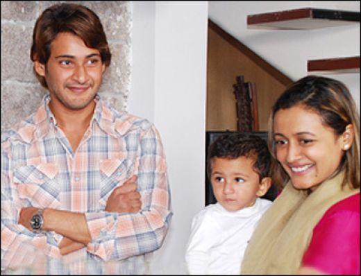 Mahesh Babu, Wife Namrata Shirodkar & son