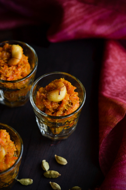Carrot Halwa / Gajar Halwa
