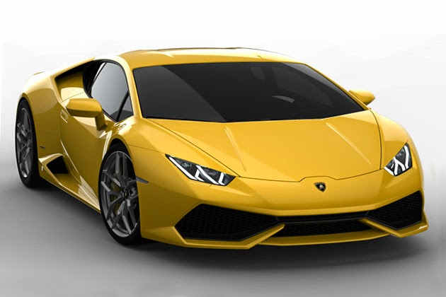 2015 Lamborghini back to the design of Affari
